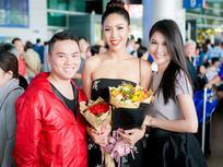 Nguyễn Thị Loan rạng rỡ ngày trở về trong vòng tay fans từ cuộc thi Miss Universe