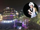 Mỹ Tâm đội mũ gấu nhảy điệu 'say rượu' tới 2 lần để chiều lòng 10.000 khán giả