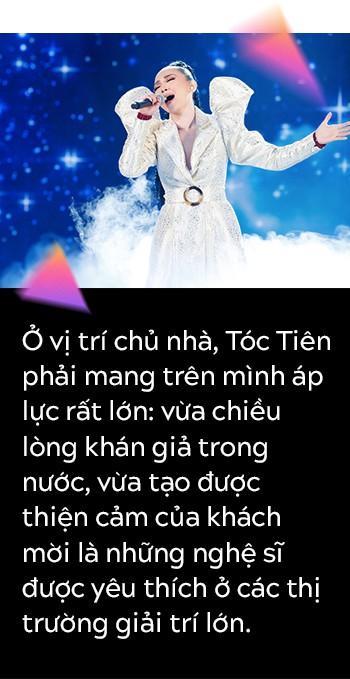 Hành trình đưa Tóc Tiên chạm tay vào chiếc cúp Nghệ sĩ xuất sắc nhất tại Việt Nam của MAMA-2