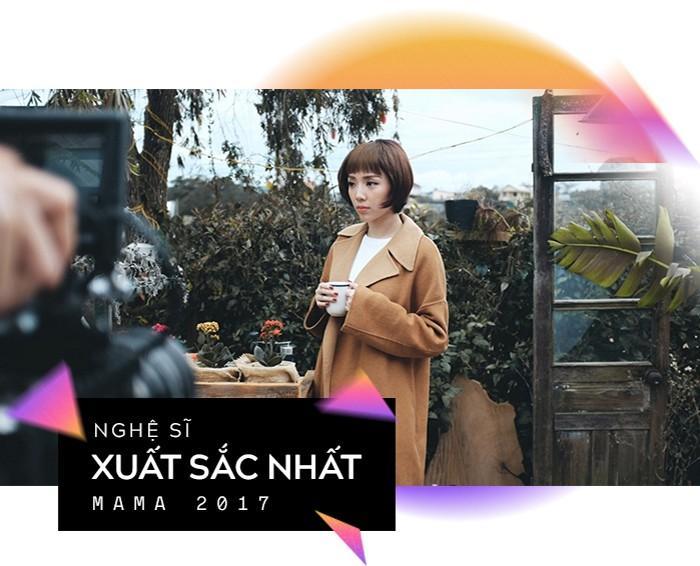 Hành trình đưa Tóc Tiên chạm tay vào chiếc cúp Nghệ sĩ xuất sắc nhất tại Việt Nam của MAMA-5
