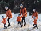 Hot girl - hot boy Việt 11/12: Trọn bộ ảnh siêu yêu của Khoai Tây trong chuyến 'du hí' cùng Ly Kute ở Hàn Quốc