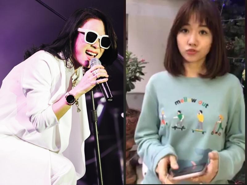 Hari Won phá hit mới của Mỹ Tâm dù khoe được ca sĩ đàn chị ký tặng album-1