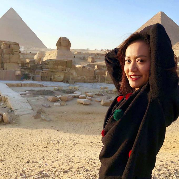 Hồng Ánh ấn tượng với Ai Cập bụi bặm, xô bồ nhưng huy hoàng-2