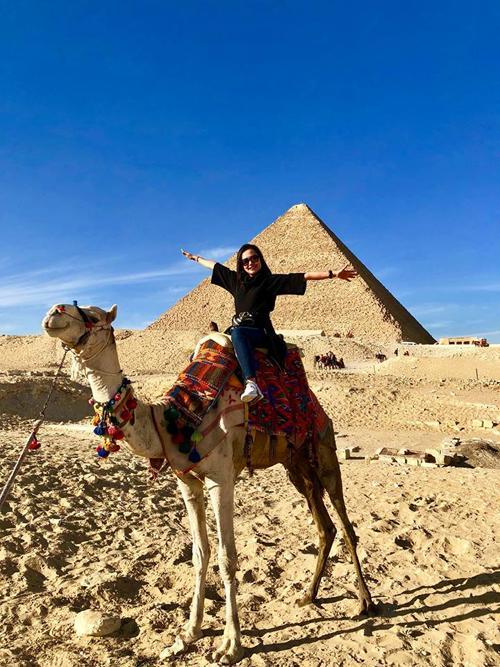 Hồng Ánh ấn tượng với Ai Cập bụi bặm, xô bồ nhưng huy hoàng-3