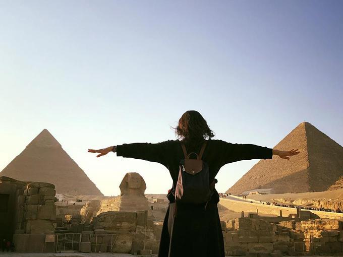 Hồng Ánh ấn tượng với Ai Cập bụi bặm, xô bồ nhưng huy hoàng-6