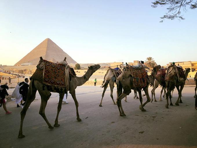 Hồng Ánh ấn tượng với Ai Cập bụi bặm, xô bồ nhưng huy hoàng-10