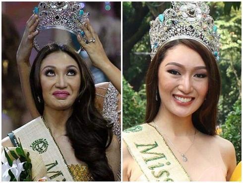Sau 1 tháng đăng quang, 'thảm họa nhan sắc' Miss Earth 2017 đẹp lên được bao nhiêu phần?