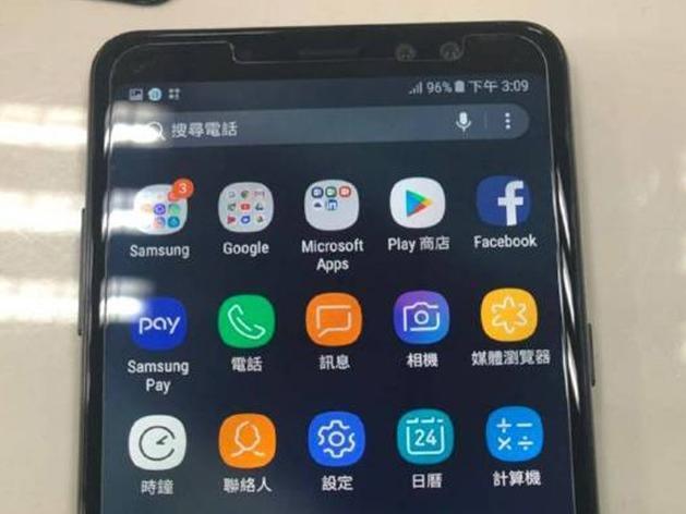 Trên tay Galaxy A8 Plus (2018) rò rỉ, thiết kế cực đẹp
