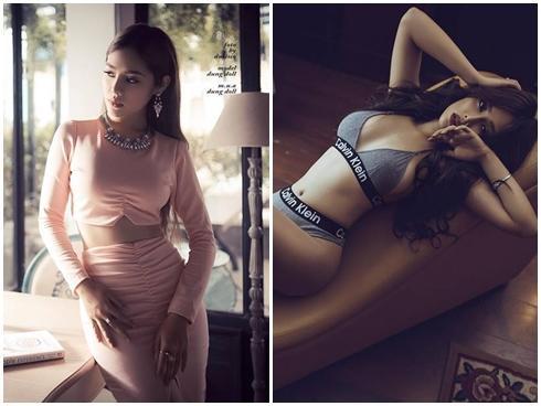 Khám phá gu thời trang của Dung Doll - cô gái sexy và drama nhất 'The Look' mùa đầu