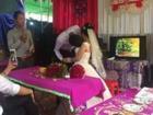 Đám cưới của cặp đôi Phú Thọ chênh nhau 50 cm thu hút sự chú ý