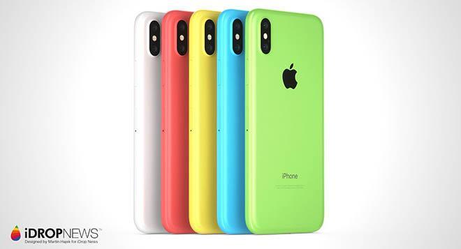 Chiêm ngưỡng iPhone Xc giá rẻ đẹp tựa iPhone X, có camera kép-2