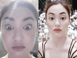 Hot girl - hot boy Việt 13/12: 'Nàng nấm' Fung La xuất hiện với bộ lông mày khác lạ