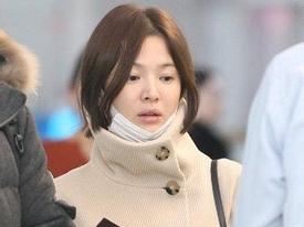 Song Hye Kyo xuất hiện với mặt mộc, thần thái kém sắc sau tuần trăng mật
