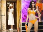 Vượt mặt Hoàng Thùy, Mâu Thủy dẫn đầu xếp hạng 'Best catwalk' tại Miss Universe Vietnam