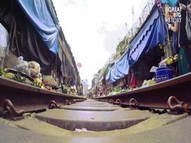Khám phá khu chợ 'cận kề sự sống và cái chết' nổi tiếng tại Thái Lan