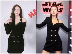'Đụng độ' váy áo với Minh Tú, Quán quân The Look chứng tỏ đẳng cấp không thua kém