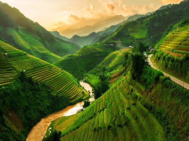 Mù Cang Chải nằm trong danh sách những dãy núi đẹp nhất thế giới-1