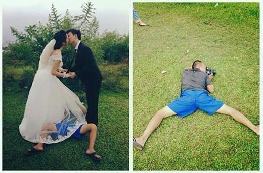 Phía sau những bức ảnh cưới ảo diệu là cả một ê kíp bá đạo làm hậu kỳ-1
