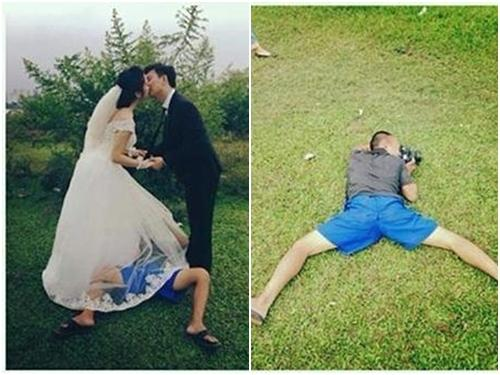 Phía sau những bức ảnh cưới ảo diệu là cả một ê kíp 'bá đạo' làm hậu kỳ