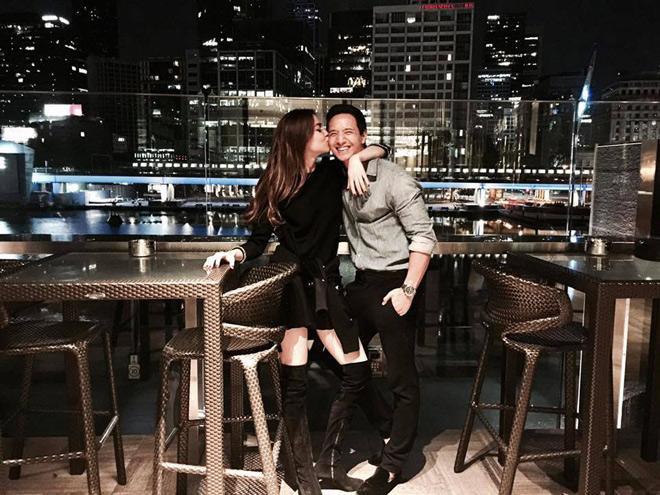 Hà Hồ, Cường Đô la vào danh sách các cặp đôi công khai hẹn hò năm 2017-1
