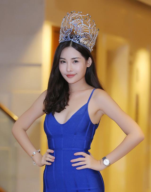 Sau 2 tháng đăng quang, nhan sắc Hoa hậu Đại dương Lê Âu Ngân Anh đã có nhiều thay đổi-9