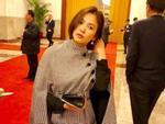 Song Hye Kyo khoe dáng đẹp, chân thon giữa tin đồn bầu bí-10