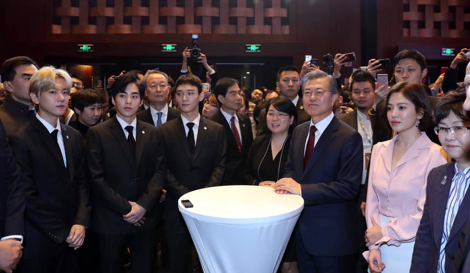 Sao Hàn 14/12: Song Hye Kyo xinh đẹp tuyệt vời trong bức ảnh chụp lén-1