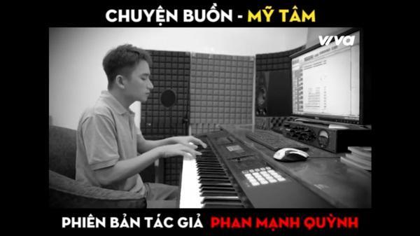 Clip: Phan Mạnh Quỳnh bất ngờ cover sáng tác dành riêng cho Mỹ Tâm-3