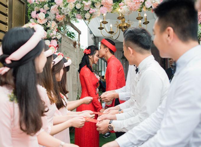 Hot boy Quế Ngọc Hải và vợ mặc màu đỏ trong lễ ăn hỏi-3