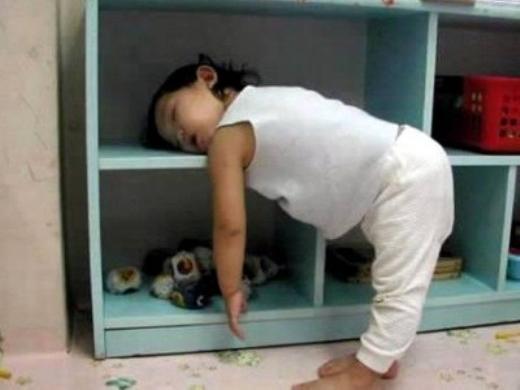 'Cười ngất' với những pha ngủ gật hài hước