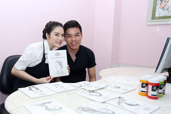 Chàng trai kể chuyện toát mồ hôi hột những lần vẽ tranh cho nghệ sĩ Việt-8