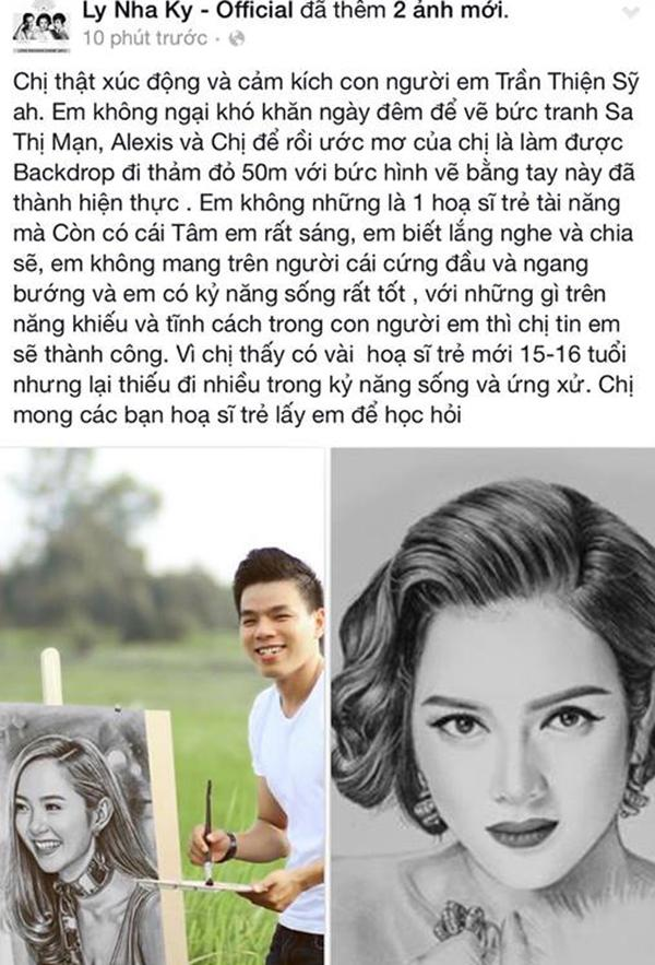 Chàng trai kể chuyện toát mồ hôi hột những lần vẽ tranh cho nghệ sĩ Việt-9