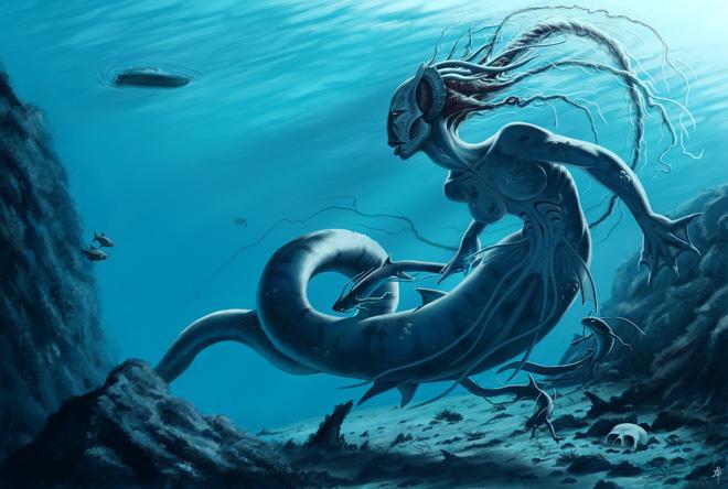 Những huyền thoại vừa hấp dẫn vừa rùng rợn đằng sau nhan sắc tuyệt trần của nàng tiên cá-3