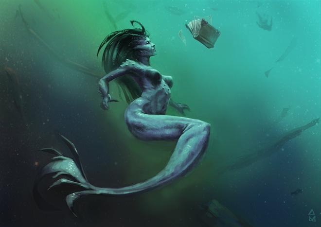 Những huyền thoại vừa hấp dẫn vừa rùng rợn đằng sau nhan sắc tuyệt trần của nàng tiên cá-8