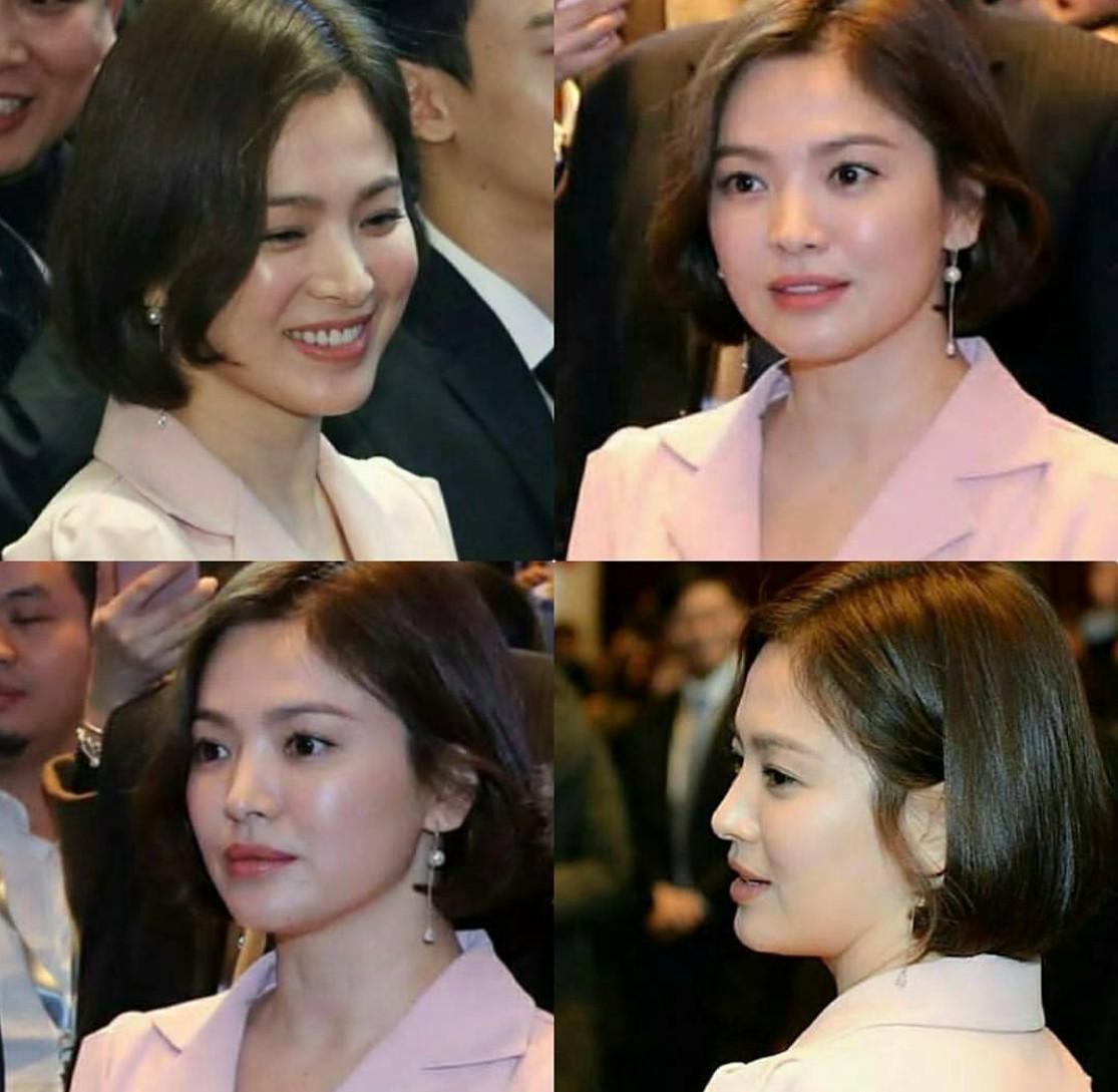 Song Hye Kyo khoe dáng đẹp, chân thon giữa tin đồn bầu bí-8