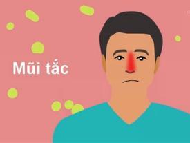 Xì mũi sai cách và những biến chứng khó lường