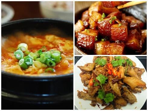 Thực đơn ngon miệng cho bữa cơm gia đình thêm ấm cúng trong những ngày đông về