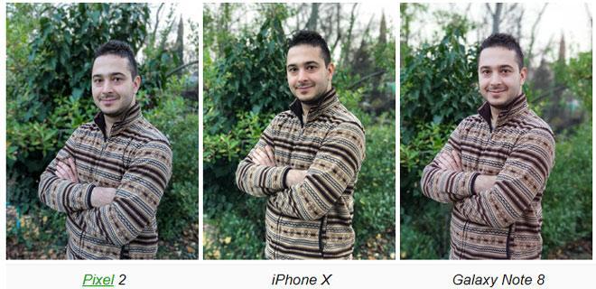 iPhone X, Galaxy Note 8 và Pixel 2: Ai nào chụp chân dung ngon?-2