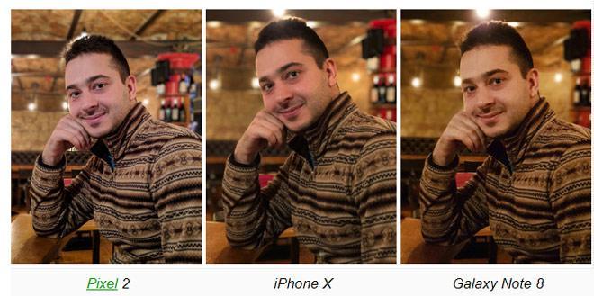 iPhone X, Galaxy Note 8 và Pixel 2: Ai nào chụp chân dung ngon?-5