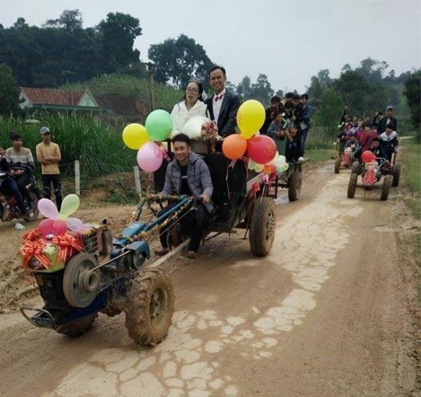 Những màn rước dâu có một không hai tại Việt Nam-1