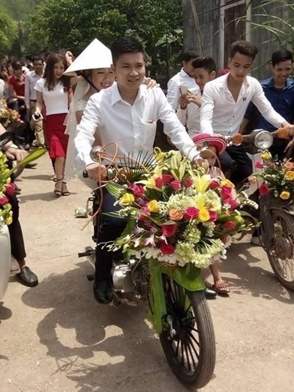 Những màn rước dâu có một không hai tại Việt Nam-2