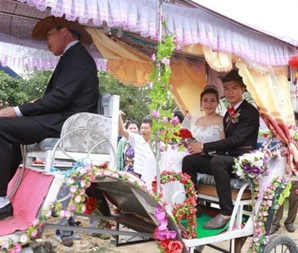 Những màn rước dâu có một không hai tại Việt Nam-6