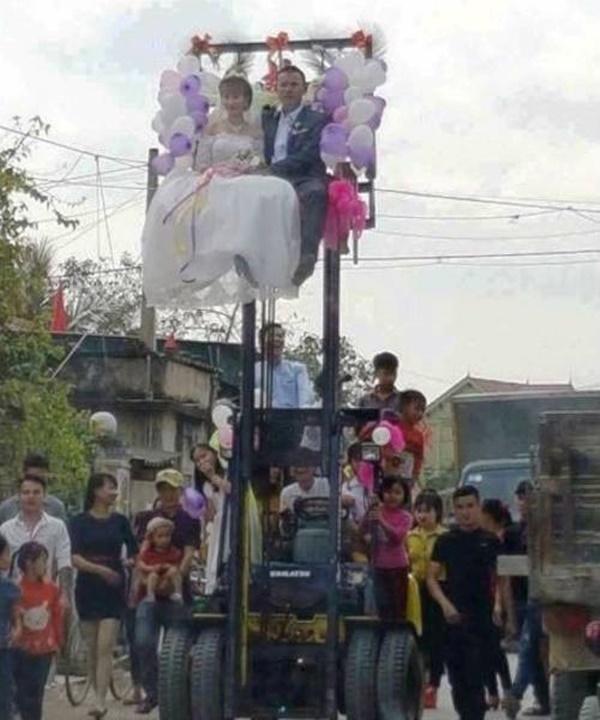 Những màn rước dâu có một không hai tại Việt Nam-7