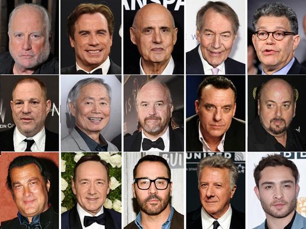 Những vụ lùm xùm gây ồn ào nhất làng giải trí Hollywood năm 2017-2