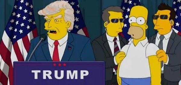 Nổi da gà với lời tiên tri chính xác đến bất ngờ của bộ phim hoạt hình The Simptons-2
