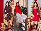 Chưa đến Noel nhưng dàn hot-face Việt đã xúng xính váy áo rực rỡ trong street style tuần này rồi!