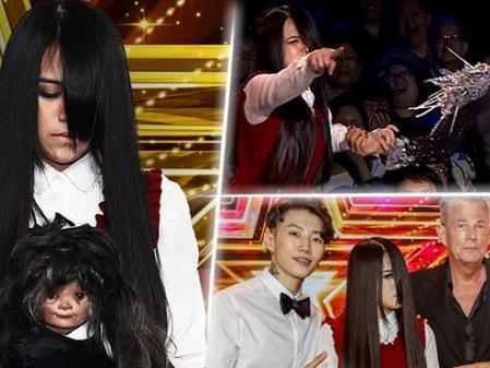 Vén bức màn bí mật về 'cô gái bị ma ám' vừa giành giải quán quân Asia's Got Talent 2017