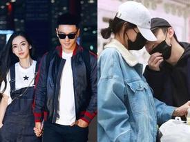 'Diện đồ đôi, ôm tình tứ' tại nơi công cộng, dàn sao Hoa ngữ khiến nhiều người ghen tỵ