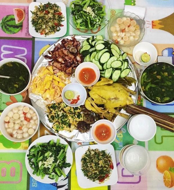 Vợ đảm khoe những mâm cơm khiến chồng tăng cân vèo vèo, bữa nào cũng ăn 3-4 bát-6