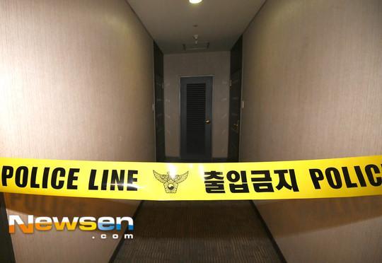 Cảnh sát phong tỏa căn hộ nơi Jong Hyun (SHINee) tự sát bằng khí than-1